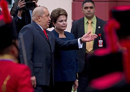 Dilma Rousseff, Hugo Chavez