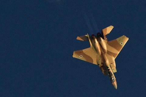 An Israeli air force F-15I