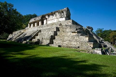Maya Ruins at Palenque