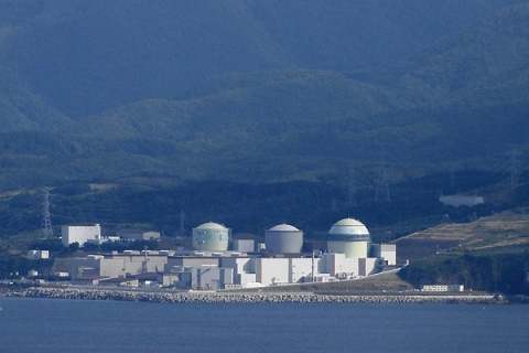 Tomari Nuclear Power Station in Hokkaido, Japan.