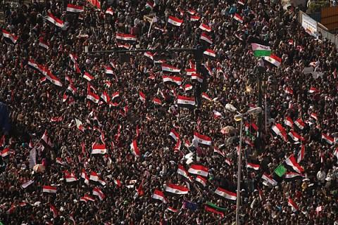 Egyptians Celebrate Their Revolution