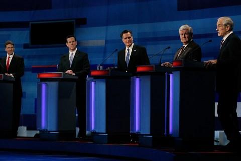GOP Presidential Candidates Debate In Myrtle Beach
