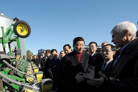Xi Jinping Visits Iowa
