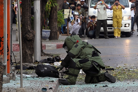 A series of explosions rocks Thailand's capital
