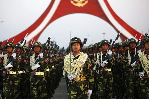 Burma's Armed Forces Day