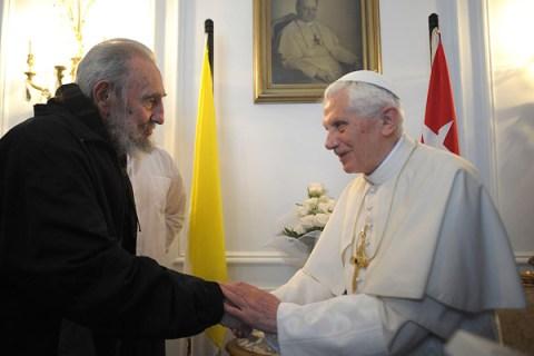 Pope Benedict XVI Arrives In Latin America