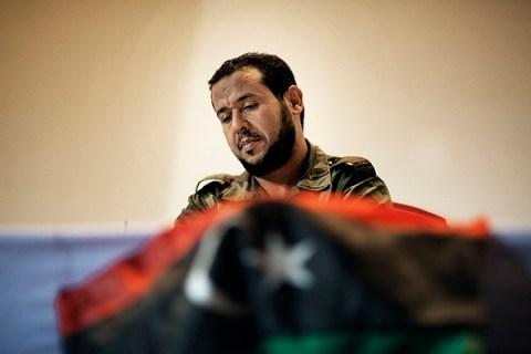 Head's of Tripoli military council Abdel