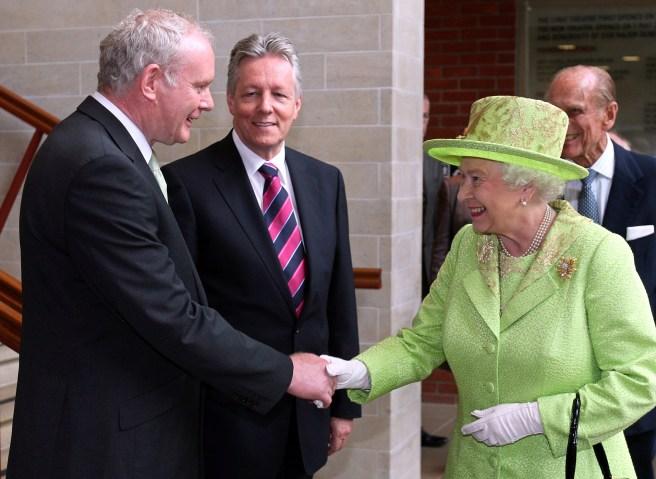 Queen Elizabeth II in Northern Ireland