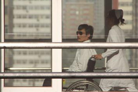 Chinese activist activist Chen Guangchen
