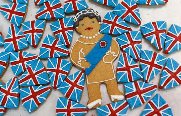 Queen Elizabeth II Jubilee Swag