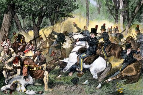 War of 1812 - Battle of the Thames