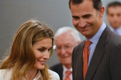 Prince Felipe And Princess Letizia Of Spain Visit New York City