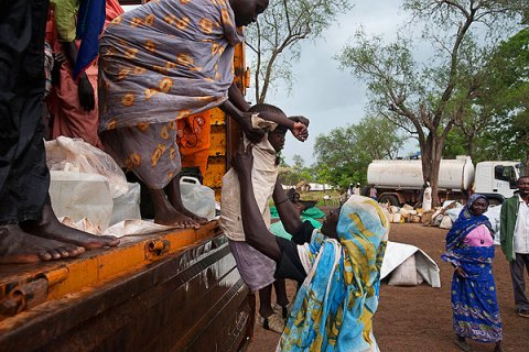 Refugees from Blue Nile