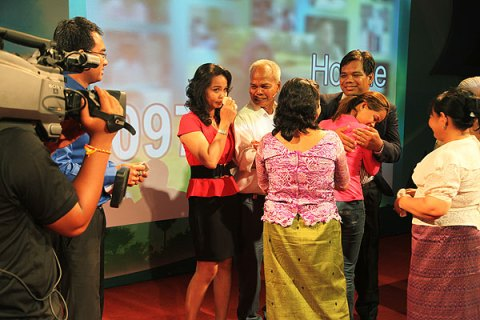 Family Reunion in Cambodia's TV show
