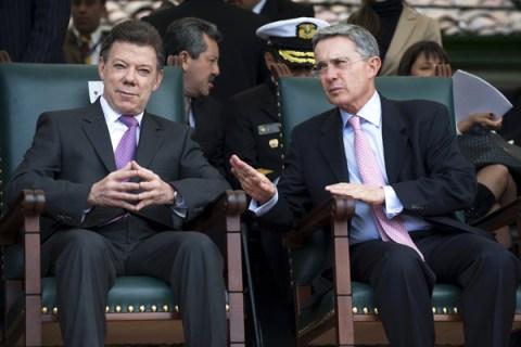 Colombian President-elect Juan Manuel Sa