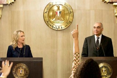 Egyptian Foreign Minister Mohammed Kamel