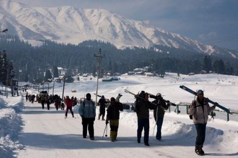 Gulmarg World Famous Ski Resort In Kashmir
