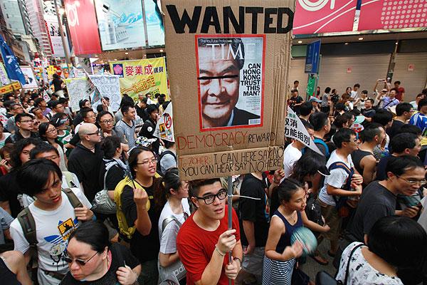 Hong Kong's Protester