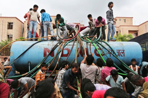 India Water Shortage