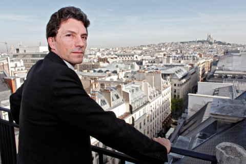 France's top anti-terror judge Marc Trevidic poses during an interview with Reuters in Paris