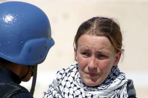 American Peace Activist Rachel Corrie