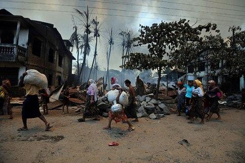 Burma's Violence