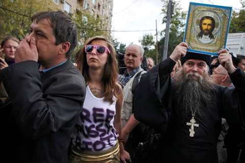Russia Punks vs Putin