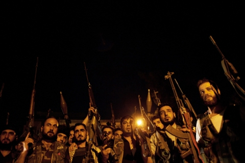 Syrian rebels for rania story