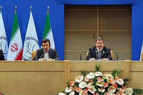 Morsy in Iran