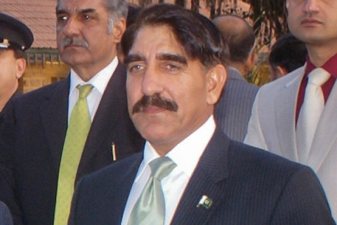 Pakistan's newly appointed Director-General of Inter Services Intelligence (ISI), Lieutenant-General Zaheer-ul-Islam, attends function in Karachi
