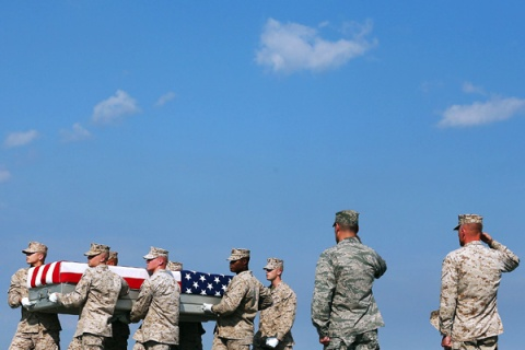 Bodies Of Three Marines Killed In Afghanistan Return To Dover Air Force Base