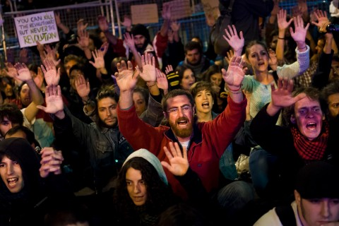 Spain's Anti-Austerity Movement Rocks Madrid