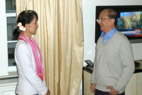 Thein-Sein-Aung-San-Suu-Kyi-