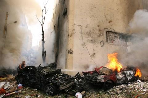 Bomb Blast Rocks Beirut