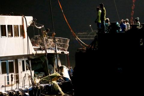 Hong Kong Ferry Collision