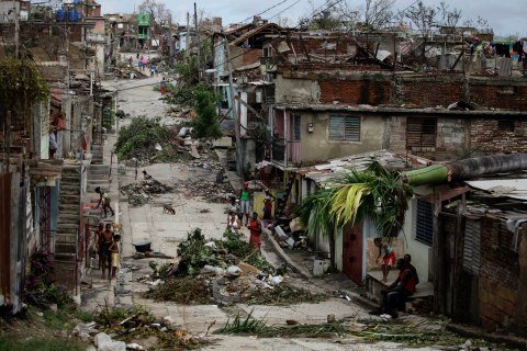 Hurricane Sandy Wreaks Havoc in Caribbean