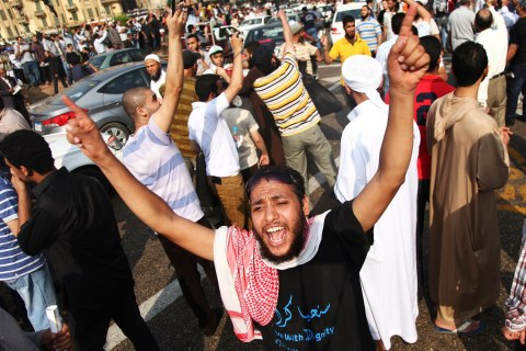 EGYPT-CAIRO-CONSTITUTION DRAFT-PROTEST