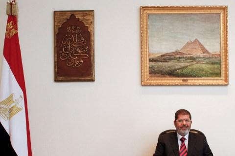 President Mohamed Morsy spells out terms for U.S.-Arab ties.