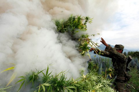 Can Obama and Peña Nieto Clear the Marijuana Smoke?