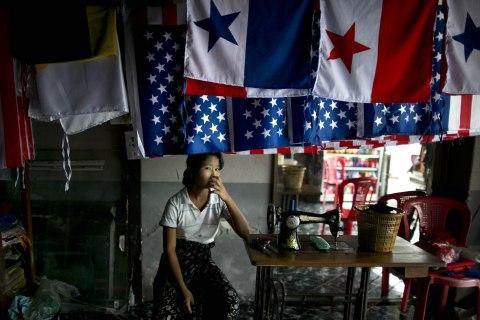 Yangon Prepares For The Visit Of US President Barack Obama