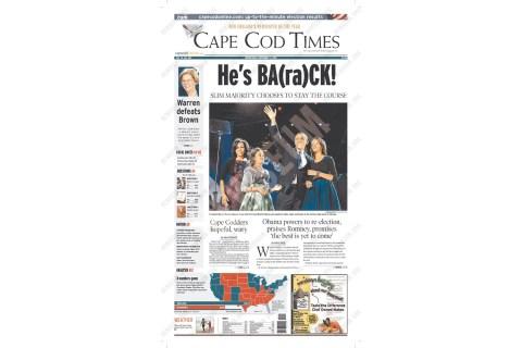 Massachusetts -  Cape Cod Times