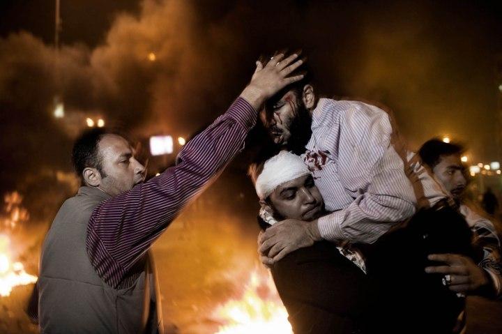 Clashes in Egypt Over Morsi Decrees