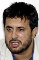 Asadullah Khalid during a press conference in Kandahar, Afghanistan on 17 Sept. 2005.