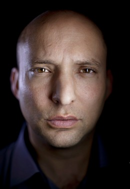 image: Naftali Bennett, head of the Jewish Home party, poses for a portrait at his office in the central Israel city of Petah Tikva, Jan. 10, 2013.