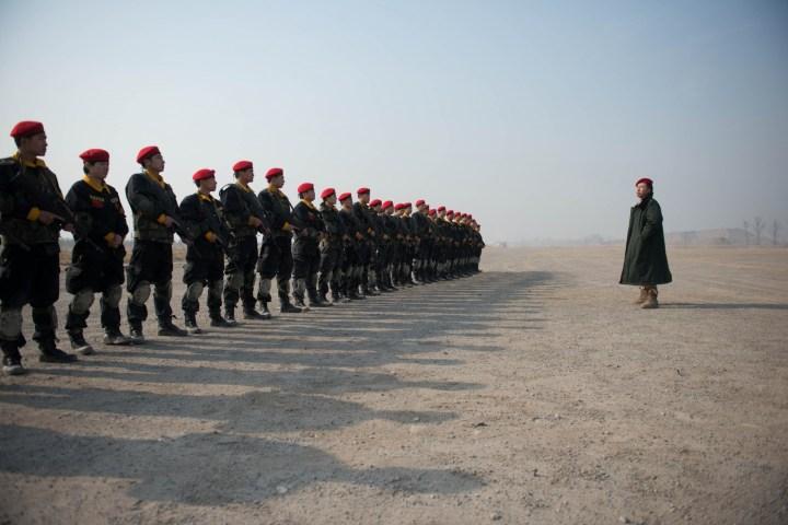 China bodyguard training