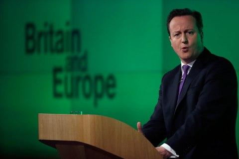 Prime Minister David Cameron Speaks On Europe