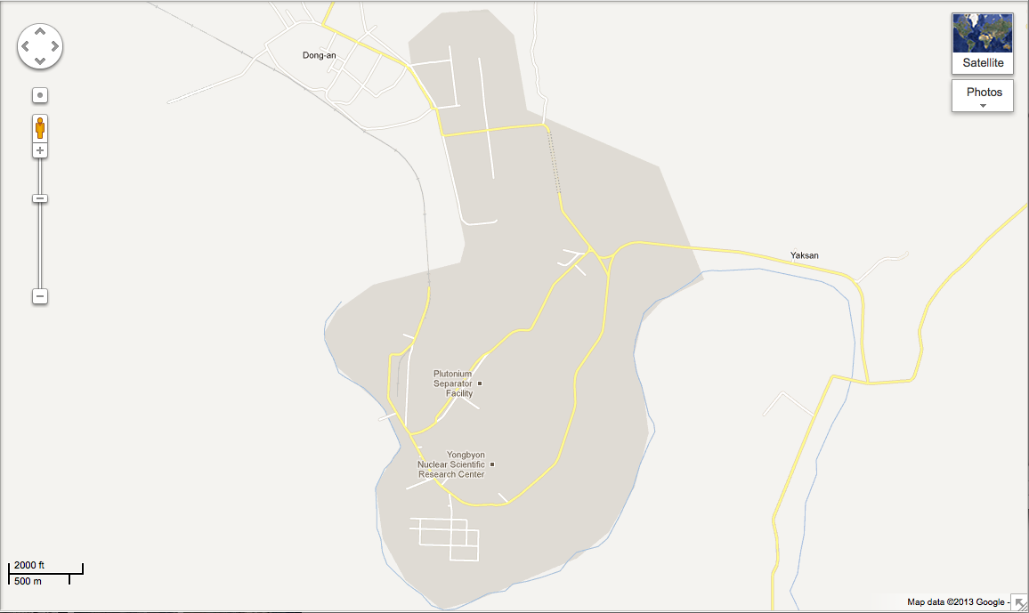 googlemaps.yongbyon