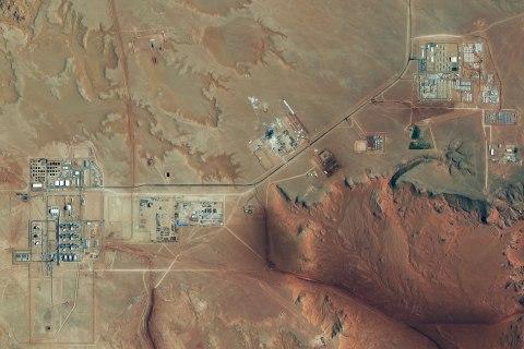 image: The Amenas Gas Field in Algeria, Oct. 8, 2012.