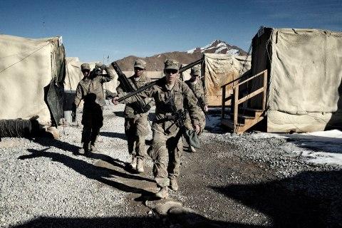 Forward Operating Base Ultimur, Logar Province, Afghanistan