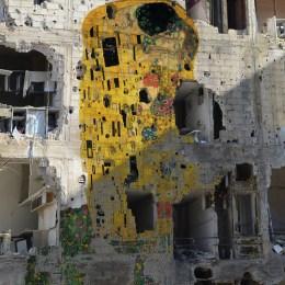 """Freedom Graffiti"" by Tammam Azzam"